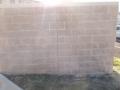 Fal graffiti eltávolítás után