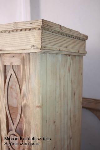fenyőfa bútor szódabikarbóna szórás utána